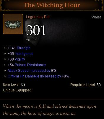 diablo3 barbarian belt the witching hour