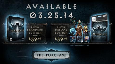 diablo 3 expansion reaper of souls release date and price
